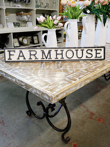 Reclaimed Wood Farmhouse Sign