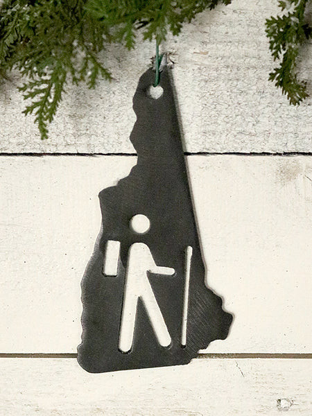 New Hampshire Hiker Ornament