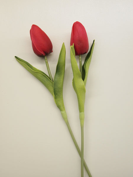 "10"" Real Touch Tulip Stem"