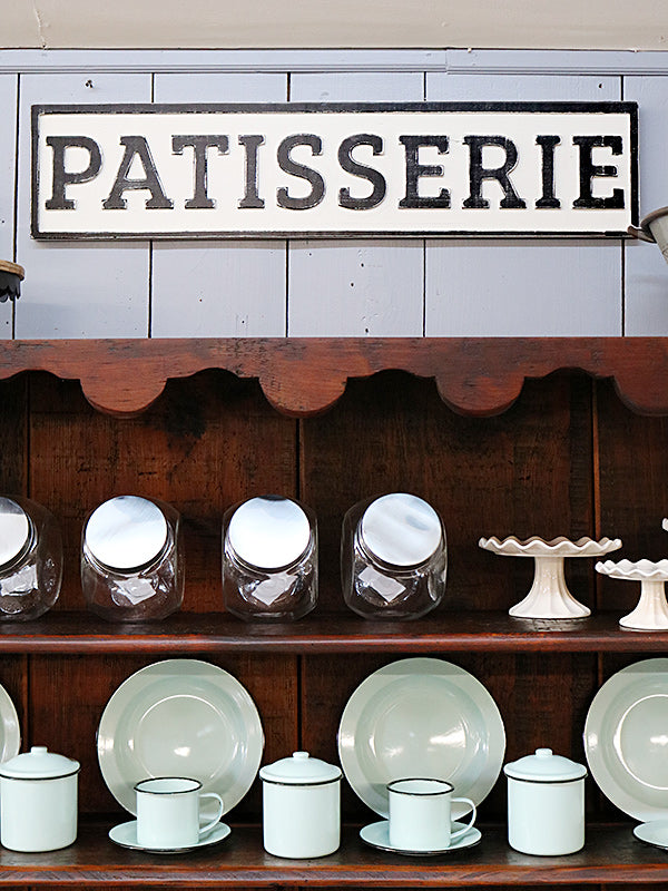 Reclaimed Wood Patisserie Sign