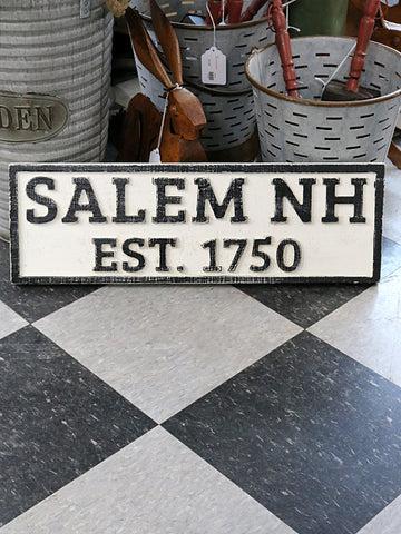 Reclaimed Wood Salem, NH Sign