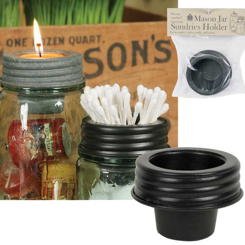 Mason Jar Sundries Lid