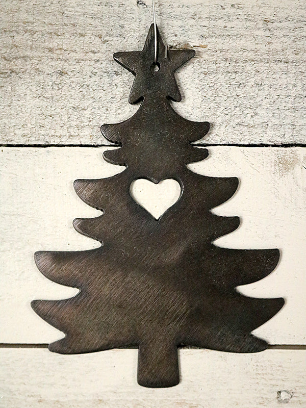 Tree With Heart Ornament