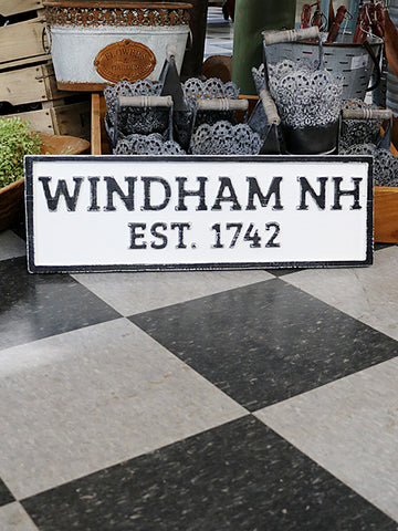 Reclaimed Wood Windham, NH Sign