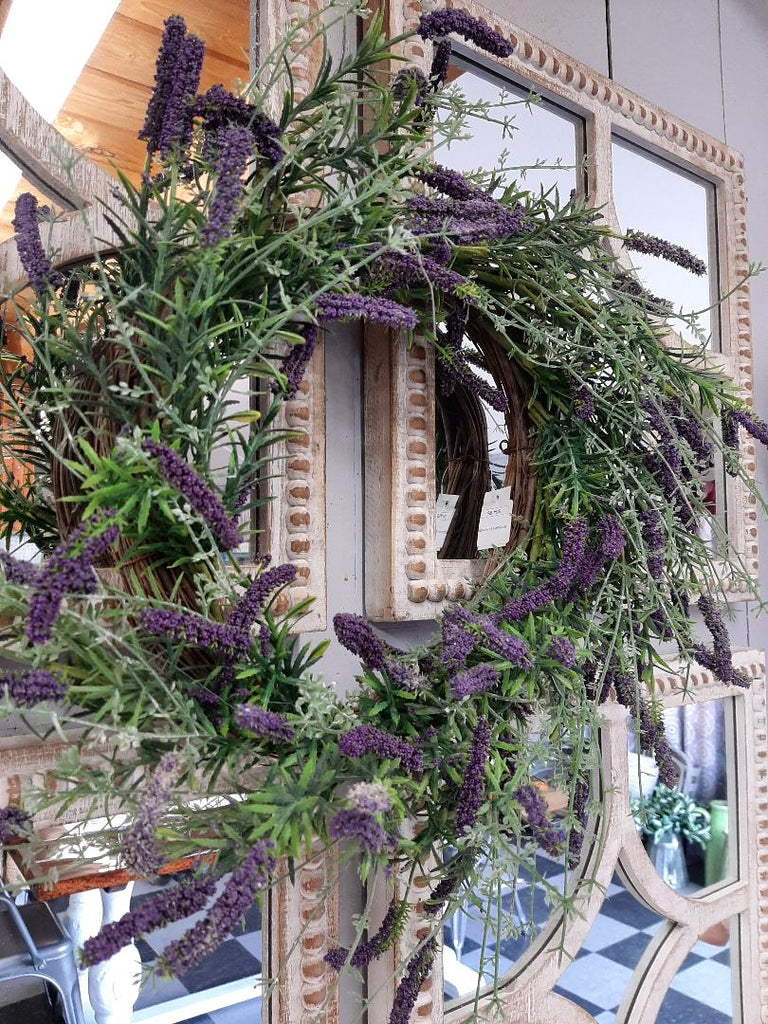 Purple Lavender Wreath