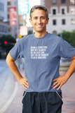 Being a Christian May Not Always Be An Easy Job But the Retirement Plan is Amazing Funny T-Shirt