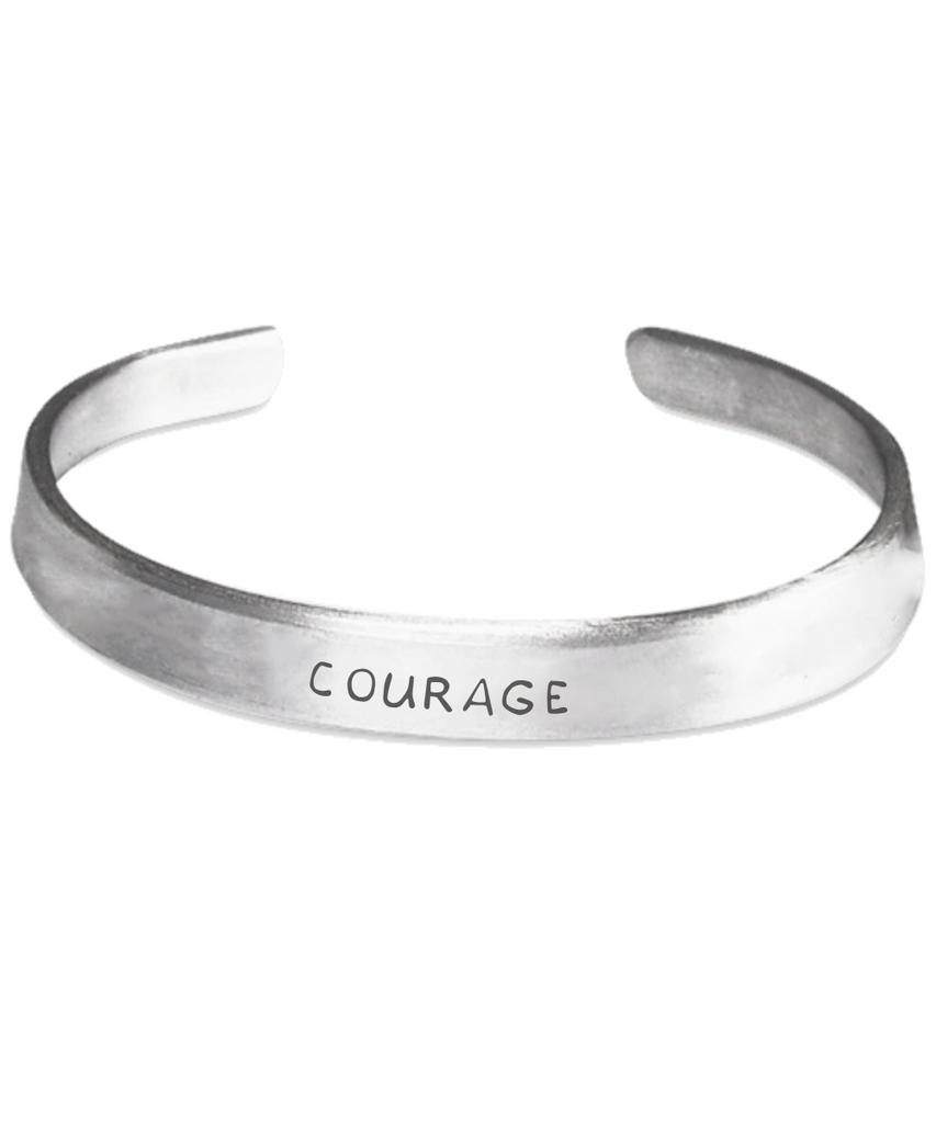 bracelet com courage isayitwithlove products