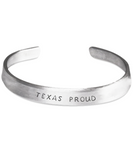 Texas Proud Bracelet - One Size Fits All - Made-in-the-USA