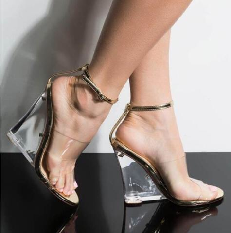 Affordable Transparent Shoes for Women