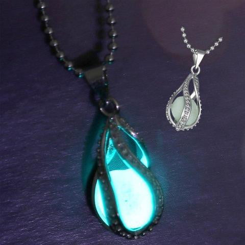 Free Glow in Dark Pendant Necklace