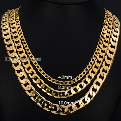 Cuban Link Gold Chain Necklaces