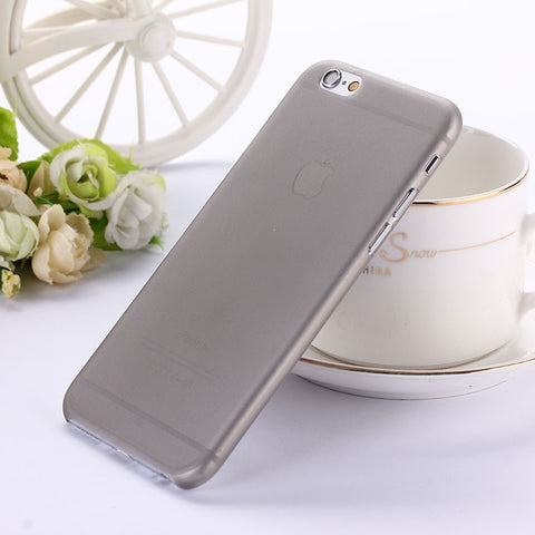 0.3mm Ultra thin matte Case cover skin for iPhone 6 6S Translucent slim Soft plastic Cellphone Phone case - Shopatronics - One Stop Shop. Find the Best Selling Products Online Today