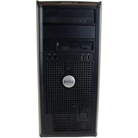 Refurbished Dell 745 Mini Tower Desktop PC with Intel Core 2 Duo Processor, 4GB Memory, 1TB Hard Drive and Windows 7 Professional (Monitor Not Included) - Shopatronics - One Stop Shop. Find the Best Selling Products Online Today