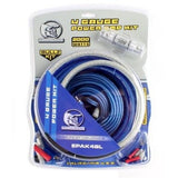 BULLZ AUDIO 4 Gauge Car Amplifier Amp Installation Power Wiring Kit | EPAK4BL - Shopatronics - One Stop Shop. Find the Best Selling Products Online Today