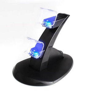 Dual Charger Game Controller Stand