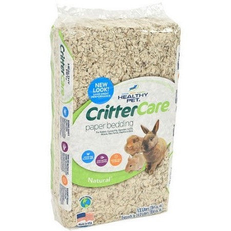 Crittercare: Light Brown/Natural For Small Animals Bedding, 14 L - Shopatronics - One Stop Shop. Find the Best Selling Products Online Today