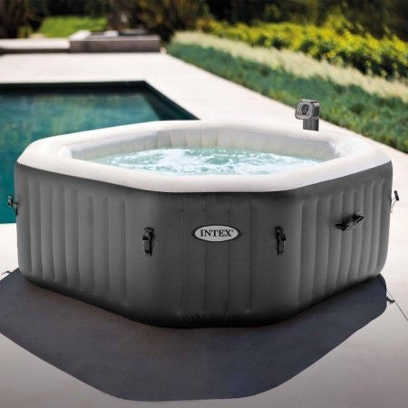 Intex 120 Bubble Jets 4 Person Octagonal PureSpa - Shopatronics - One Stop Shop. Find the Best Selling Products Online Today