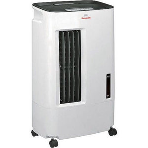 Honeywell 15-Pint Indoor Portable Evaporative Air Cooler, White, CSO71AE - Shopatronics