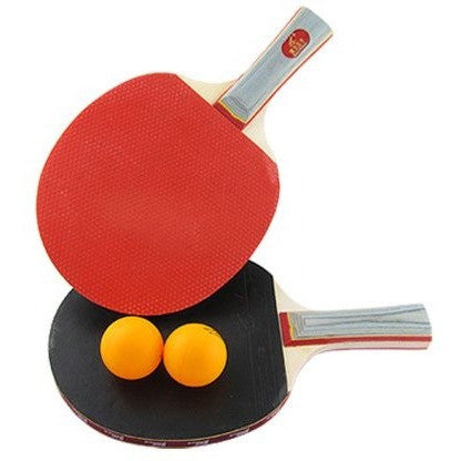2-Player Recreational Penhold Table Tennis Rackets Paddles w 2 Ping Pong Balls - Shopatronics - One Stop Shop. Find the Best Selling Products Online Today