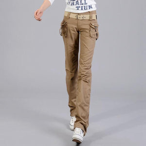 Summer Casual Cargo Pants Women Military Overalls - Shopatronics