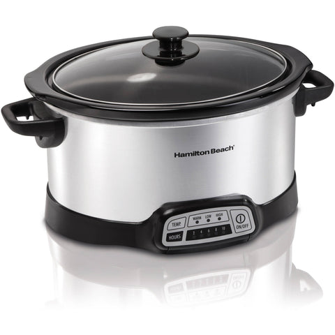 Hamilton Beach Programmable 5-Quart Slow Cooker - Shopatronics - One Stop Shop. Find the Best Selling Products Online Today