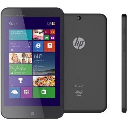 "Refurbished HP Stream 7"" 5701 Intel Quad-Core 1.33GHz 1GB 32GB SSD  W8.1 w/Cams Tablet-Black - Shopatronics - One Stop Shop. Find the Best Selling Products Online Today"