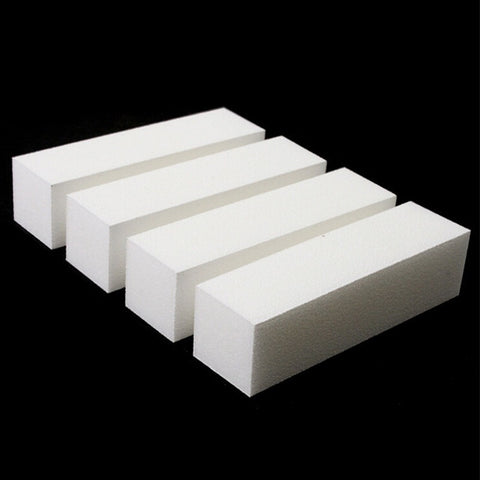 10 Pcs/Lot Nail Art Buffing File Block Pedicure Manicure Buffing Sanding Polish White Nail File Nail Art Tips - Shopatronics - One Stop Shop. Find the Best Selling Products Online Today