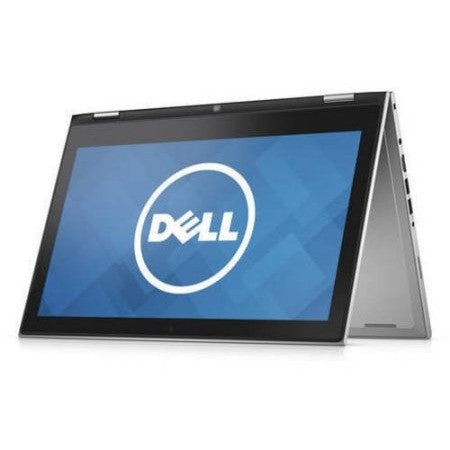 "Dell Silver 13.3"" Inspiron 13 7348 touch screen 2-in-1 Convertible Laptop PC with Intel Core i3-5010U Processor, 4GB Memory, 500GB Hard Drive and Windows 10 Home - Shopatronics"