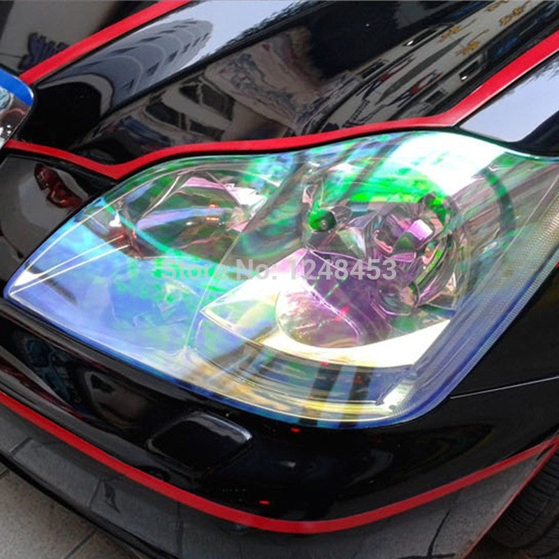 120cm*30cm Shiny Chameleon Auto Car Styling headlights Taillights  film lights  Change Color Car film Stickers Car Accessories - Shopatronics - One Stop Shop. Find the Best Selling Products Online Today