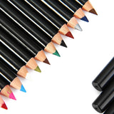 12 PCS Color/Black Make Up Beauty Pen Eyeliner Eye Liner Pencil Eyebrow Nice Cosmetics - Shopatronics - One Stop Shop. Find the Best Selling Products Online Today