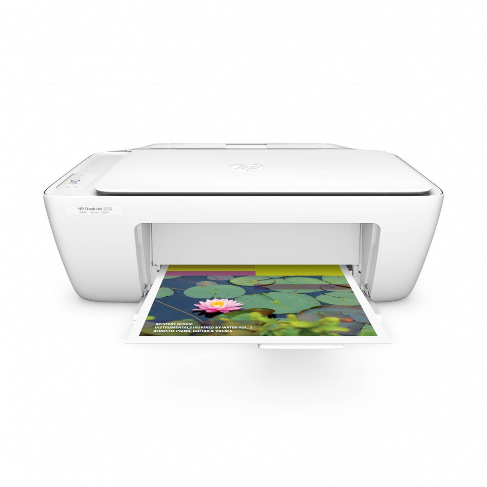 HP Deskjet 2132 All-in-One Printer/Copier/Scanner - Shopatronics