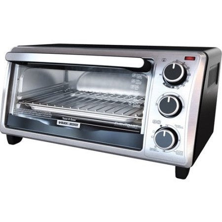 Black & Decker 4-Slice Toaster Oven, Stainless Steel - Shopatronics - One Stop Shop. Find the Best Selling Products Online Today