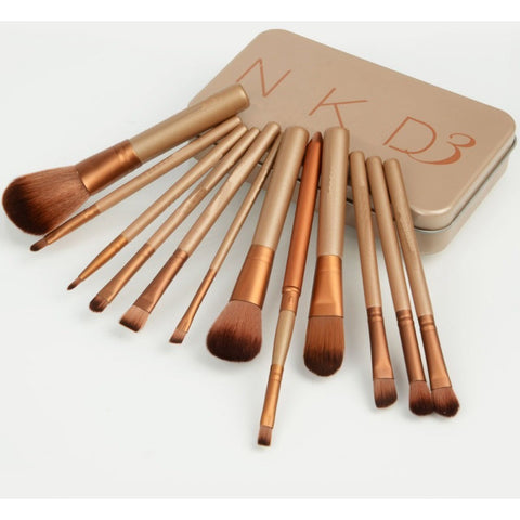 12pcs=1set Professional new nake 3 makeup brushes tools set NK3 Make up Brush tools kits for eye shadow palette Cosmetic Brushes - Shopatronics - One Stop Shop. Find the Best Selling Products Online Today