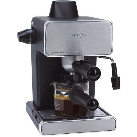 Mr. Coffee Espresso Maker, Stainless Steel and Black, BVMC-ECM260 - Shopatronics