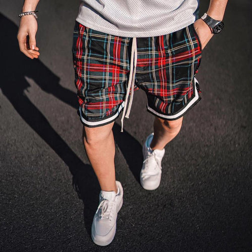 Summer Shorts Men Hip Hop Shorts Loose Fitness Bodybuilding Short Pants Streetwear