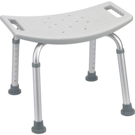 Drive Medical Bathroom Safety Shower Tub Bench Chair, Gray - Shopatronics
