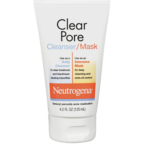 Neutrogena(R) Cleanser/Mask Clear Pore 4.2 Fl Oz - Shopatronics