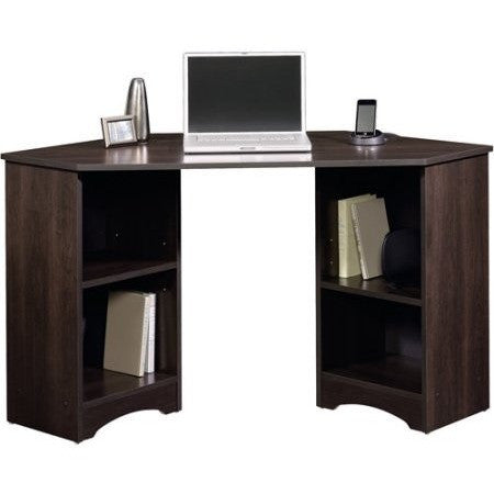 Sauder Beginnings Traditional Corner Desk, Multiple Finishes - Shopatronics