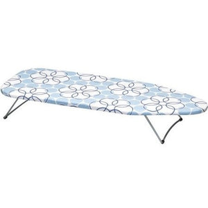 Household Essentials Tabletop Ironing Board with Stainless Steel Top - Shopatronics