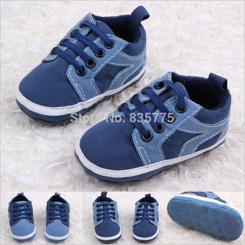 New Style Handsome Baby Kids Boys First Walkers Lace-Up Sports Shoes Newborn Bebe Toddler Soft Bottom Anti-slip Footwear - Shopatronics - One Stop Shop. Find the Best Selling Products Online Today