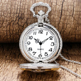 Vintage Bronze New Soviet Sickle Hammer Style Quartz Pocket Watch Men Women Pendant - Shopatronics