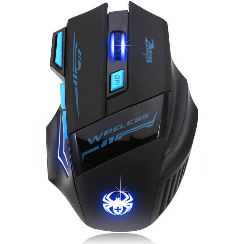Adjustable Pro Gamer Optical Wireless Gaming Mouse Gamer Accessories Top quality #LYFE06 - Shopatronics - One Stop Shop. Find the Best Selling Products Online Today