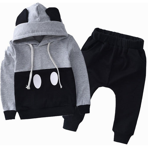 Autumn Mickey Kids Clothes Boys Clothing Set Baby Girls Clothes Set Srping Hoodies Set Children Clothing set Hooded jackets - Shopatronics - One Stop Shop. Find the Best Selling Products Online Today