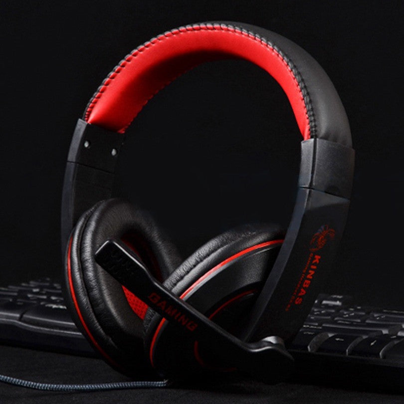 Black/Red GK-K9 Gaming Stereo Headphone big Earphones Headset with Microphone For Computer a mobile phone - Shopatronics - One Stop Shop. Find the Best Selling Products Online Today
