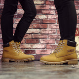 Fashion Casual Men Women Boots Autumn Winter Suede Tooling Snow boot Leather Couples Martin zapatos mujer Big Size 36-46 - Shopatronics - One Stop Shop. Find the Best Selling Products Online Today