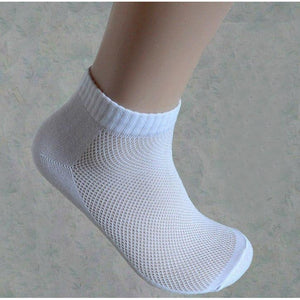 Hot Sale Fashion Quality New Women's socks Classic White Gray Black Spring Summer Winter Style Cool Mesh Design Ankle Sock - Shopatronics