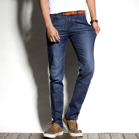 Brand New Arrival Spring Summer  Jean Slim Regular Fit Stretch Jeans pantalones vaqueros hombre Calca asculina - Shopatronics - One Stop Shop. Find the Best Selling Products Online Today
