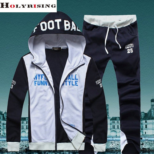 Men Sport Suit Hoodies Men High Quality Sweatshirt Sudadera Hombre tracksuit men Hoodie+Pants M-3XL size - Shopatronics
