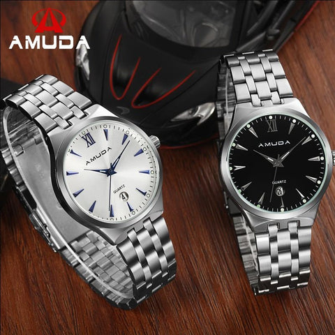 2016 New Amuda 2010 Watches Men Luxury Brand Hot Design Military Sports Wrist Watches Lover Quartz Woman Full Steel Watch - Shopatronics - One Stop Shop. Find the Best Selling Products Online Today