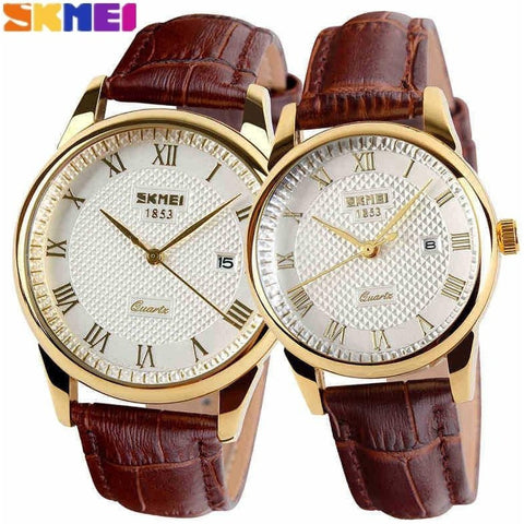 2016 New Brand Quartz Watch lovers Watches Women Men Dress Watches Leather Dress Wristwatches Fashion Casual Watches Gold 1/pcs - Shopatronics - One Stop Shop. Find the Best Selling Products Online Today